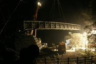 Wray Valley Trail bridge installation
